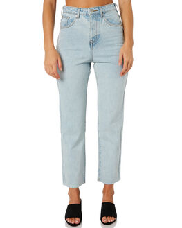 LIGHT BLUE WASH WOMENS CLOTHING ZULU AND ZEPHYR JEANS - ZZ1886LBLU