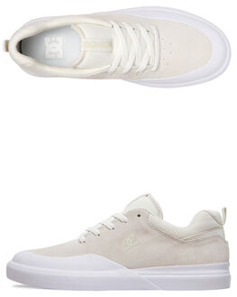 CREAM MENS FOOTWEAR DC SHOES SNEAKERS - ADYS100522-CRE