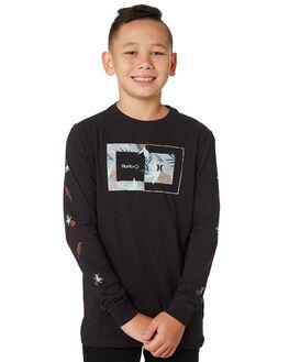 BLACK KIDS BOYS HURLEY TOPS - AO2233010