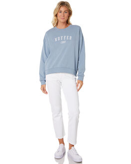 STEEL BLUE WOMENS CLOTHING HUFFER JUMPERS - WCR91S47-342SBLU
