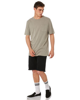 OVERCAST MENS CLOTHING RVCA TEES - R181066OVCST