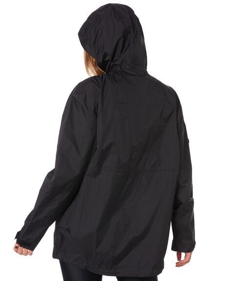 BLACK WOMENS CLOTHING HUFFER JACKETS - WRJA02J1701BLK