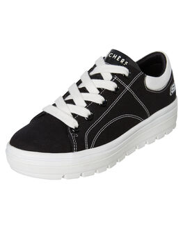 BLACK WOMENS FOOTWEAR SKECHERS SNEAKERS - 74100BLK