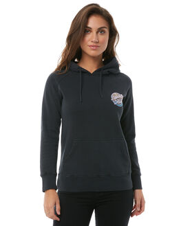 BLACK WOMENS CLOTHING SANTA CRUZ JUMPERS - SC-WFA8528BLK