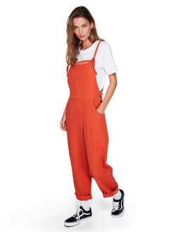 RUST WOMENS CLOTHING ELEMENT PLAYSUITS + OVERALLS - EL-294876-RST