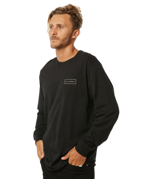 BLACK MENS CLOTHING BILLABONG TEES - 9572173BLK