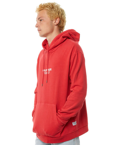 RED MENS CLOTHING HUFFER JUMPERS - MHD81S280-586RED