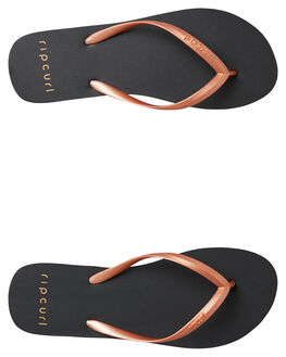 ROSE GOLD WOMENS FOOTWEAR RIP CURL THONGS - TGTE674093