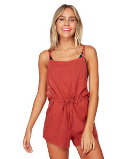 REDROCK WOMENS CLOTHING BILLABONG PLAYSUITS + OVERALLS - BB-6592503-ROK