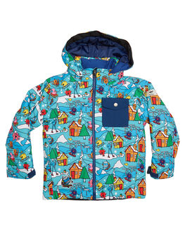 MR MEN FUN TIMES SNOW OUTERWEAR QUIKSILVER TODDLER BOYS - EQKTJ03007WBK6