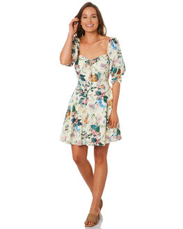 LEMON WOMENS CLOTHING TIGERLILY DRESSES - T392424LEM