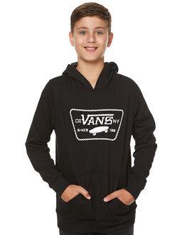 BLACK KIDS BOYS VANS JUMPERS - VN0A3182BLKBLK