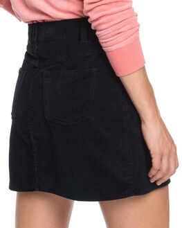TRUE BLACK WOMENS CLOTHING ROXY SKIRTS - ERJWK03055-KVJ0