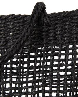 BLACK WOMENS ACCESSORIES RHYTHM BAGS + BACKPACKS - ACC00W-BG01BLK