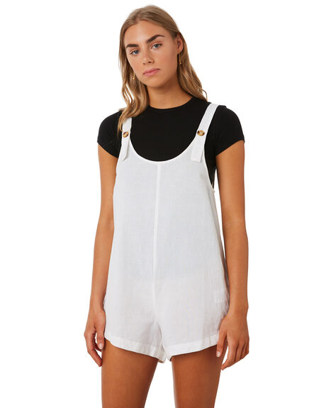 WHITE OUTLET WOMENS SWELL PLAYSUITS + OVERALLS - S8202447WHI