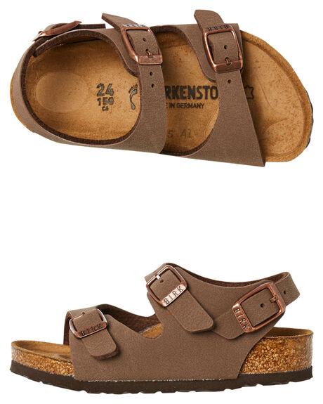 MOCCA KIDS BOYS BIRKENSTOCK FOOTWEAR - 233073MOCCA