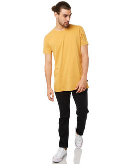 YELLOW MENS CLOTHING SILENT THEORY TEES - 40X0001YLW