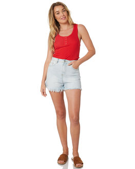 RED WOMENS CLOTHING SWELL SINGLETS - S8189273RED