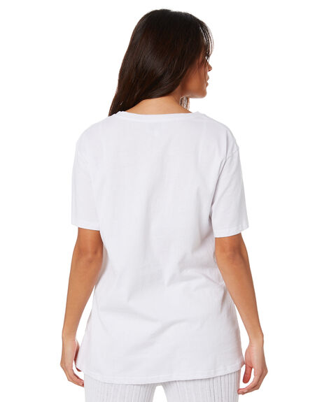 WHITE WOMENS CLOTHING SNDYS TEES - SET112WHT