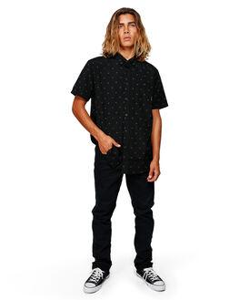 BLACK MENS CLOTHING BILLABONG SHIRTS - BB-9591202-BLK