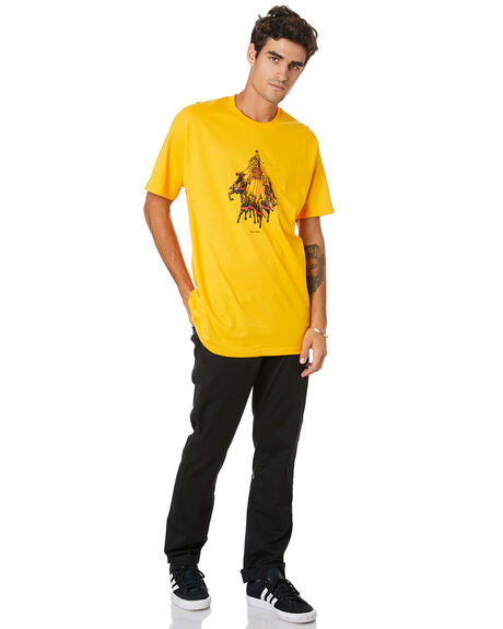 GOLD MENS CLOTHING PASS PORT TEES - PPSTATETEEGLD