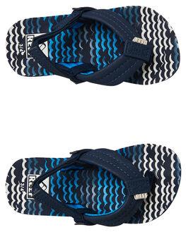 BLUE HORIZON KIDS BOYS REEF FOOTWEAR - 2345BZW