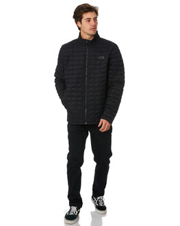 TNF MATTE BLACK MENS CLOTHING THE NORTH FACE JACKETS - NF0A3KTVXYM