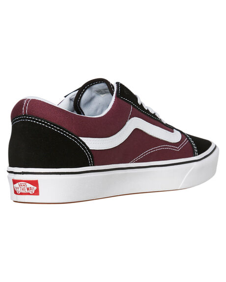 BLACK PRUNE WHITE MENS FOOTWEAR VANS SNEAKERS - SSVNA3WMAV9WBLKM