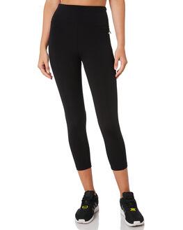 BLACK WOMENS CLOTHING LORNA JANE ACTIVEWEAR - LB0210BLK