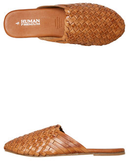 TAN WOMENS FOOTWEAR HUMAN FOOTWEAR FASHION SANDALS - BARLANDTAN