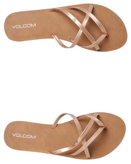ROSE GOLD WOMENS FOOTWEAR VOLCOM FASHION SANDALS - W0811550RGD