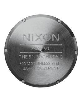 ALL GUNMETAL GREY MENS ACCESSORIES NIXON WATCHES - A0832090