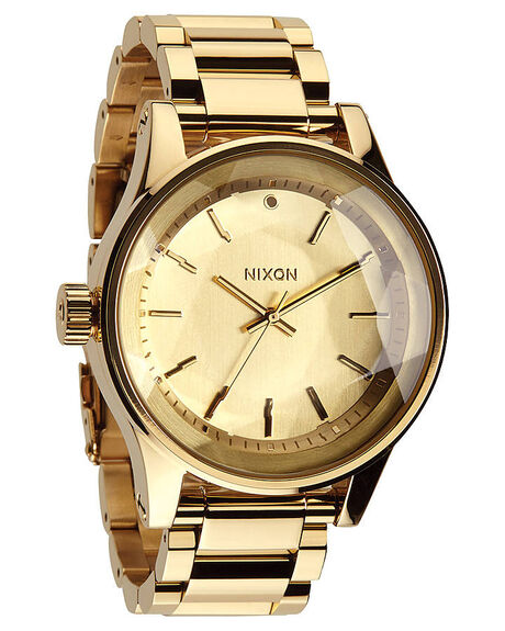 ALL GOLD MENS ACCESSORIES NIXON WATCHES - A384502