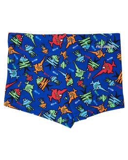 BLUE MULTI KIDS BOYS ZOGGS SWIMWEAR - 6005184BLUMT