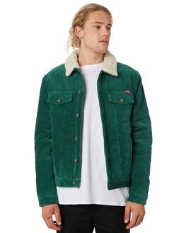 55a6642a15 SLICK GREEN MENS CLOTHING WRANGLER JACKETS - 901561LI6