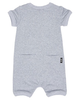GREY MARLE KIDS BABY ROCK YOUR BABY CLOTHING - BBB181-DGMARL