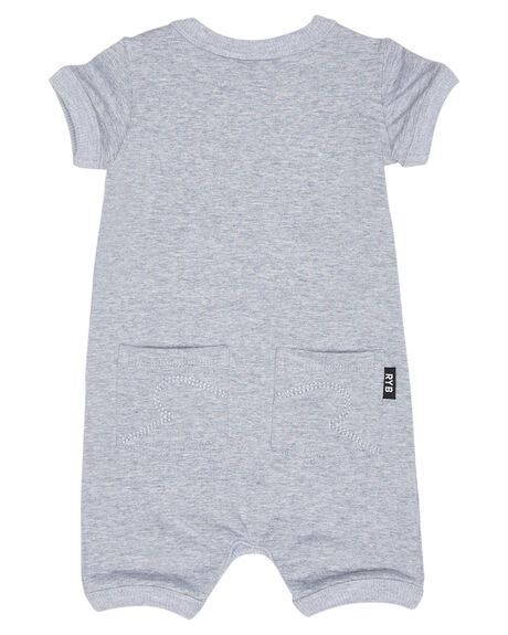 GREY MARLE OUTLET KIDS ROCK YOUR BABY CLOTHING - BBB181-DGMARL