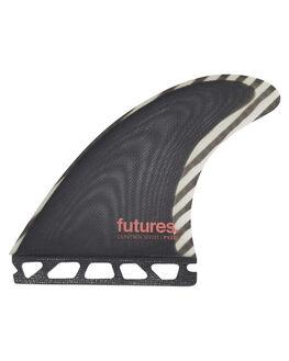 WHITE BOARDSPORTS SURF FUTURE FINS FINS - PYM-010202WHT