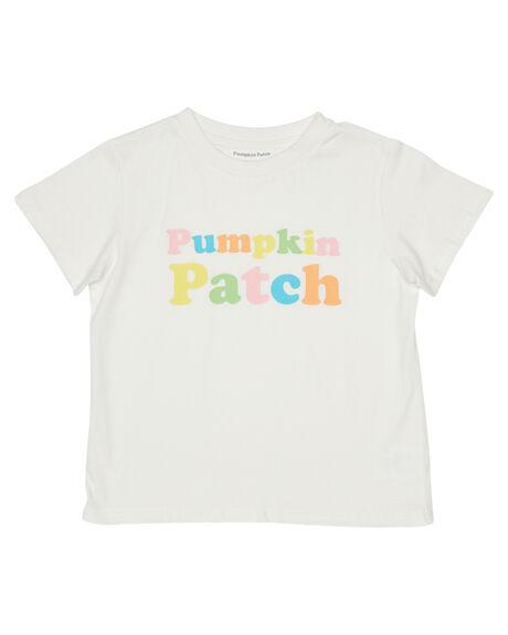 WHITE KIDS BOYS PUMPKIN PATCH TOPS - TGT-007WHT