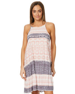 PALE BLUSH WOMENS CLOTHING HURLEY DRESSES - AGDSBRZPBUS