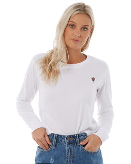 WHITE WOMENS CLOTHING ELEMENT TEES - 286057WHT