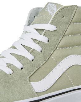 DESERT SAGE WHITE MENS FOOTWEAR VANS SKATE SHOES - SSVNA38GEU62GRNM