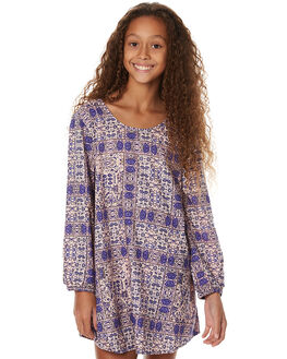MOSAIC BLUE KIDS GIRLS BILLABONG DRESSES - 5575471MOS