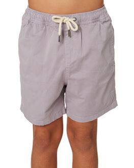 CEMENT KIDS BOYS ACADEMY BRAND SHORTS - B19S602CEM