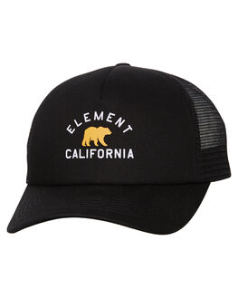 FLINT BLACK MENS ACCESSORIES ELEMENT HEADWEAR - 173604BFBLK