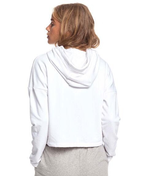 BRIGHT WHITE WOMENS CLOTHING ROXY JUMPERS - ERJFT04138-WBB0