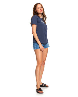 MOOD INDIGO WOMENS CLOTHING ROXY TEES - ERJZT04746-BSP0