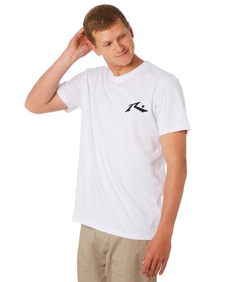 WHITE MENS CLOTHING RUSTY TEES - TTM1612WHT
