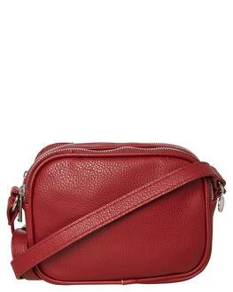 BIKING RED WOMENS ACCESSORIES RUSTY BAGS + BACKPACKS - BFL0999BRD