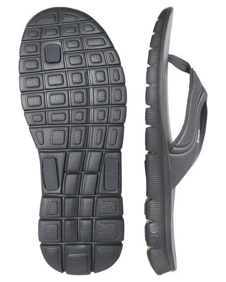 DK GREY HEATHER MENS FOOTWEAR HURLEY THONGS - 924748021